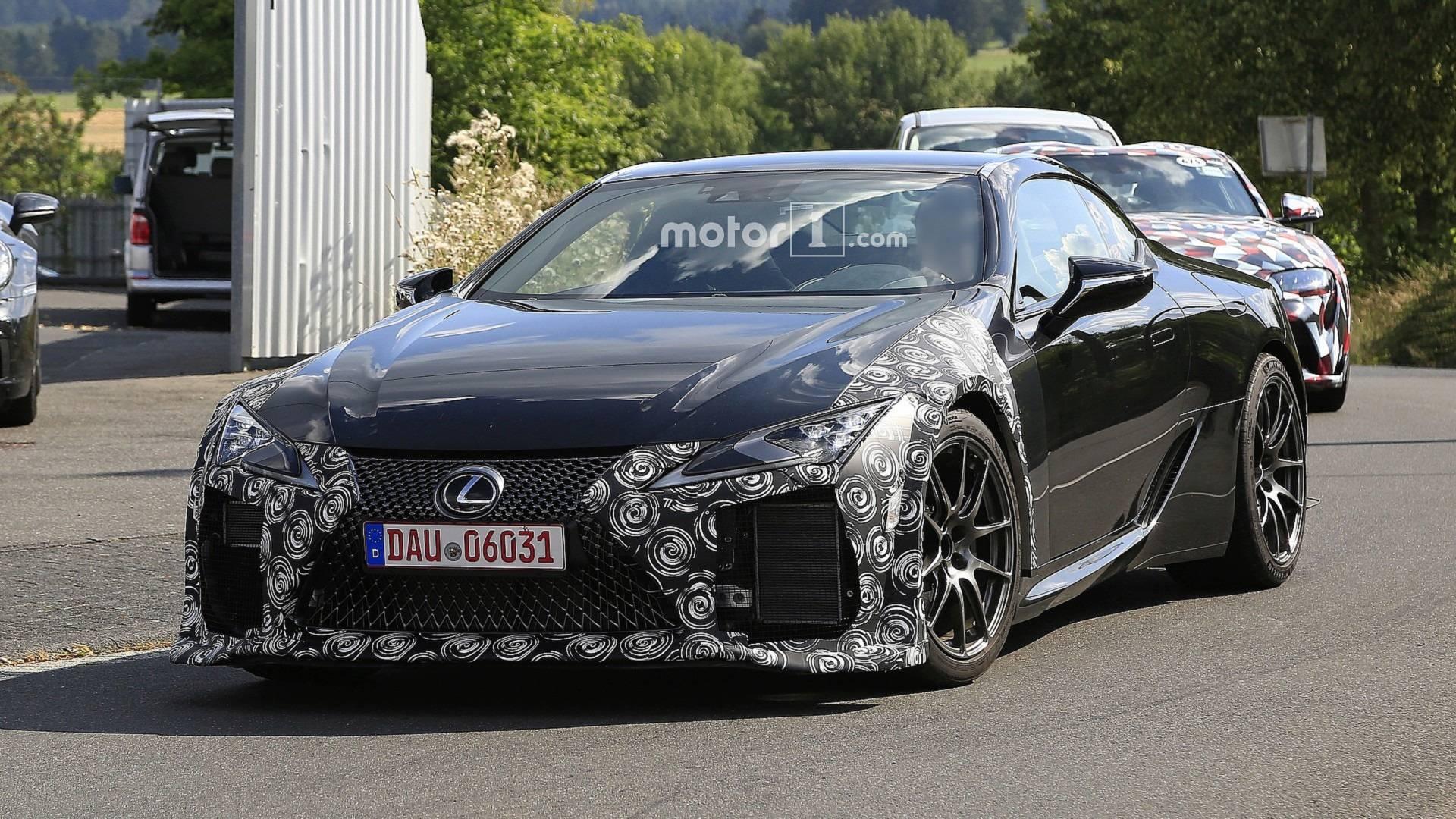 Lexus LC в 2019 году получит новую модификацию 1