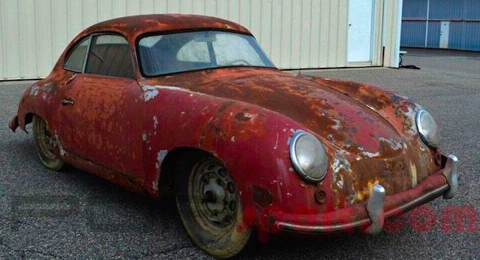 Ржавый Porsche 1952 года продают дороже нового Cayenne 1