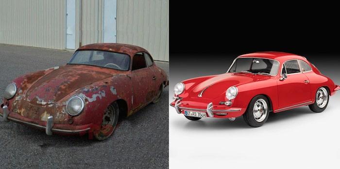Ржавый Porsche 1952 года продают дороже нового Cayenne 2
