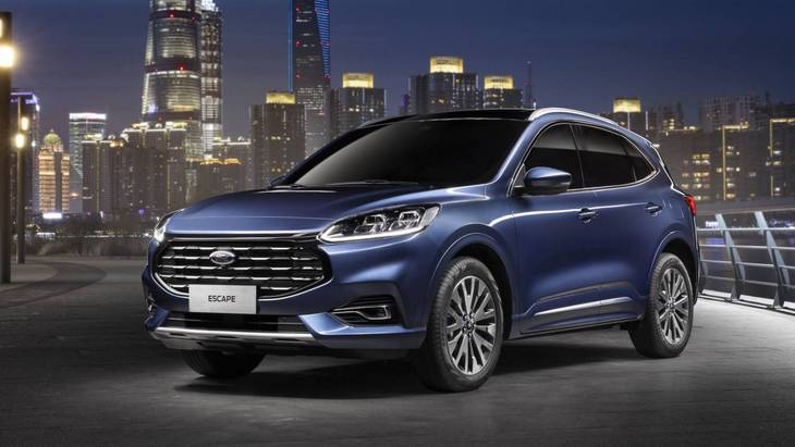 Ford представил китайскую версию Kuga 1