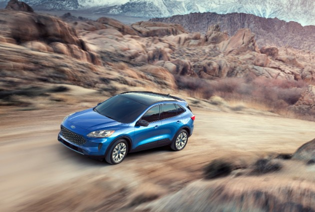 Ford представил новую «Кугу» 1