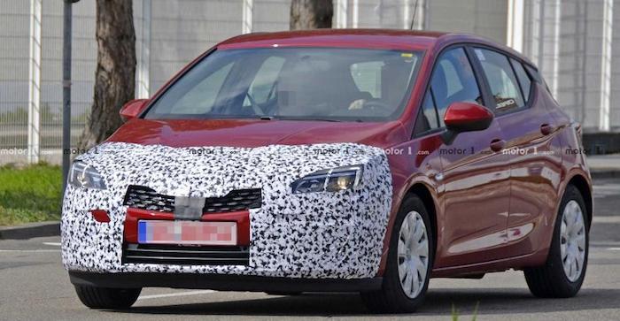Опубликованы шпионские фото нового Opel Astra 1