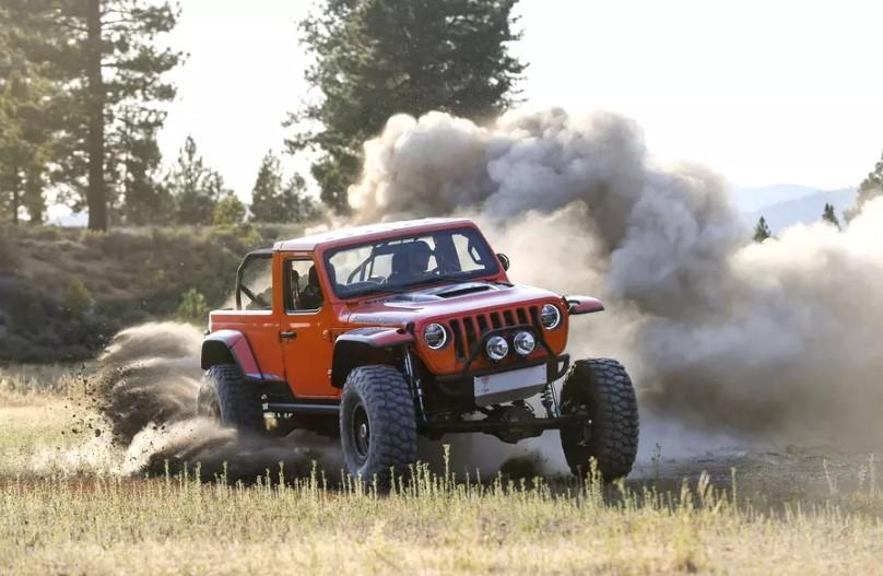 Jeep приготовил яркие пикапы для ежегодного пасхального сафари 2