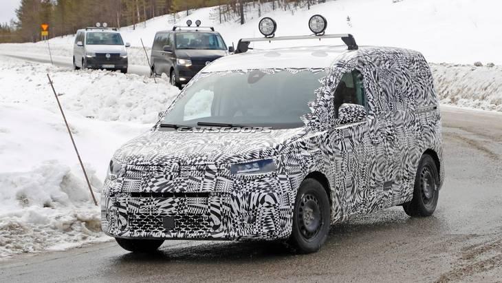 Новый Caddy от Volkswagen впервые засняли на тестах 1