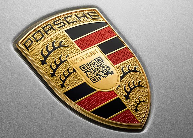 Porsche опубликовала шуточный логотип с посланием на 1 апреля 1