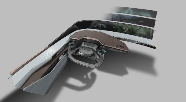 Audi анонсировала концепт с искусственным интеллектом AI:me 2