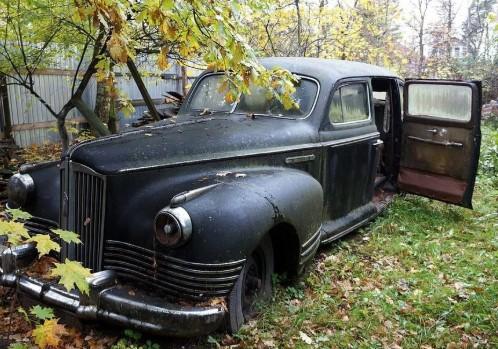 В Крыму ЗиС-110 с маленьким пробегом простоял бесхозным 60 лет 1