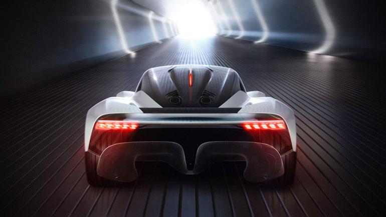 Aston Martin запатентовал название для своего нового суперкара 1
