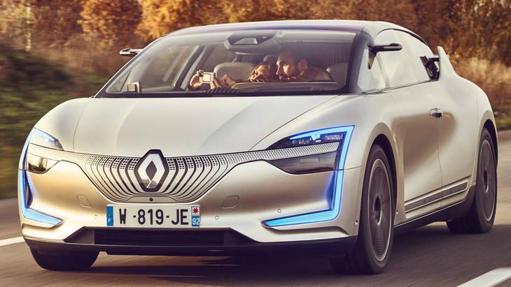 Renault собирается покорять С-сегмент новым электромобилем 1