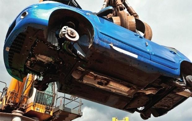Что делают немцы со старыми автомобилями 1