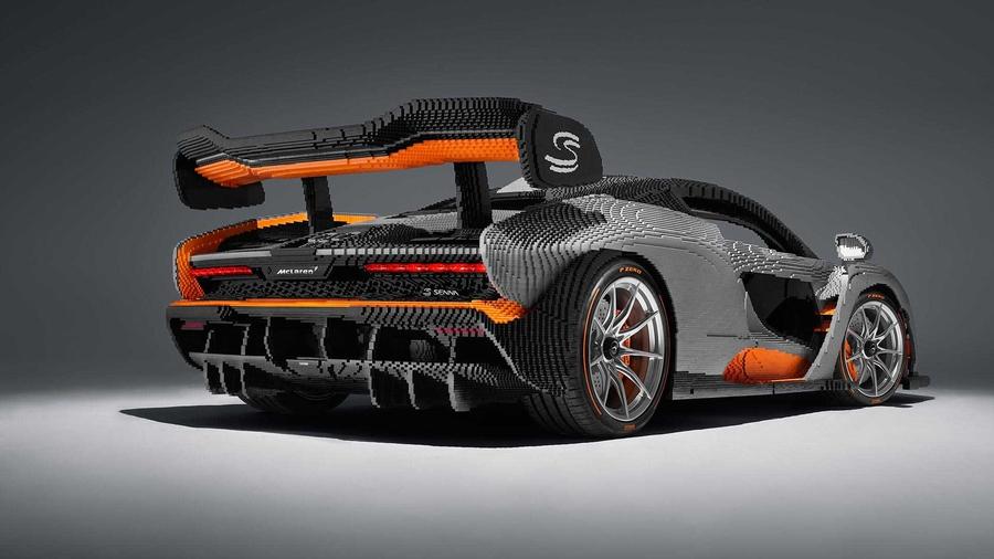 McLaren Senna собрали из Lego 2