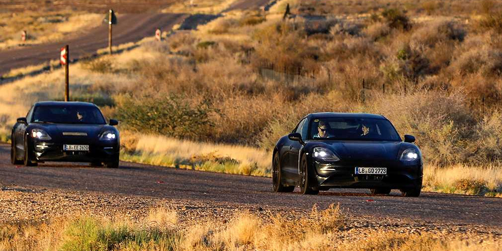 В Porsche рассказали об экстремальных испытаниях электрического Taycan 2