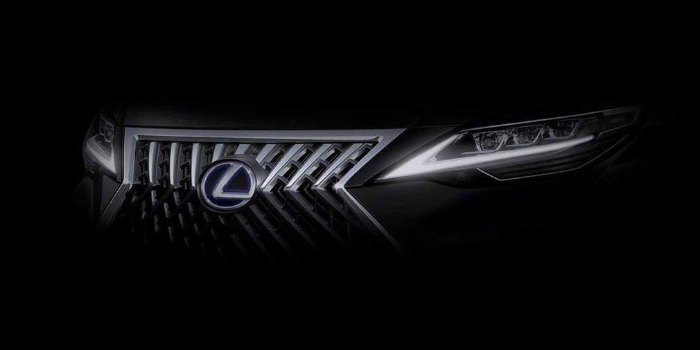 Lexus представит свой первый минивэн 1