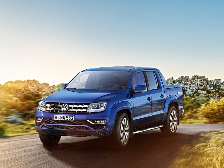 Volkswagen Amarok породнится с Ford Ranger 1
