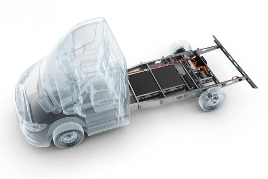 В Германии разработали универсальный гибридный привод для легких грузовиков 1
