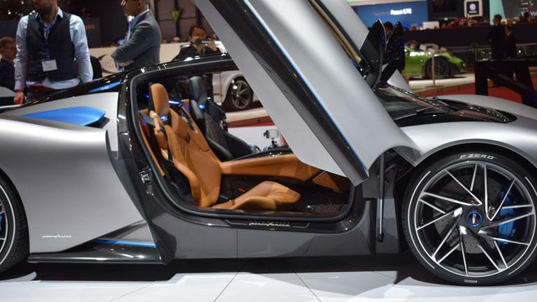 Ателье Pininfarina презентует модель Battista в Гудвуде 1