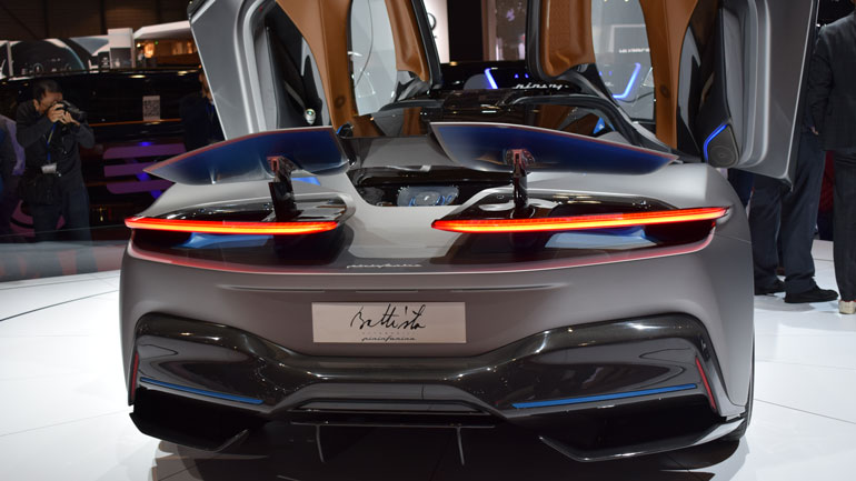 Ателье Pininfarina презентует модель Battista в Гудвуде 2