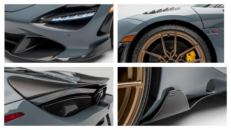 McLaren 720S одели в легкий карбоновый обвес от Vorsteiner 2