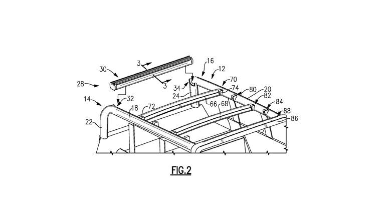 Ford запатентовал технологию складной крыши для нового Ford Bronco 2