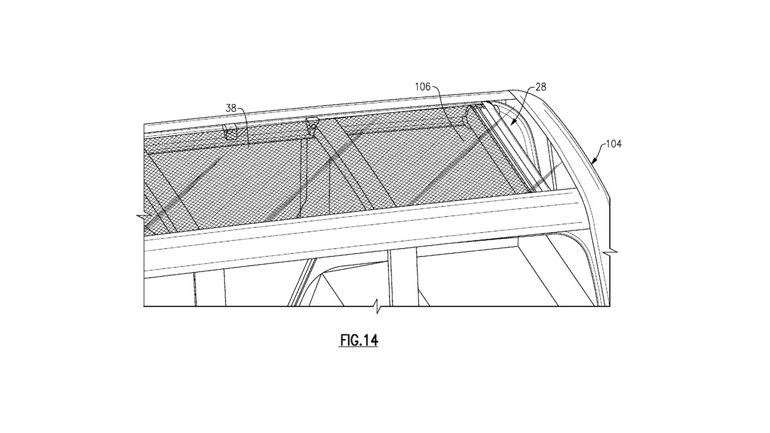 Ford запатентовал технологию складной крыши для нового Ford Bronco 1