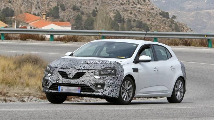 Renault готовит фейслифтинг для Megane 1