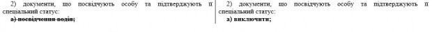 Водительские права предлагают исключить из документов, удостоверяющих личность 1