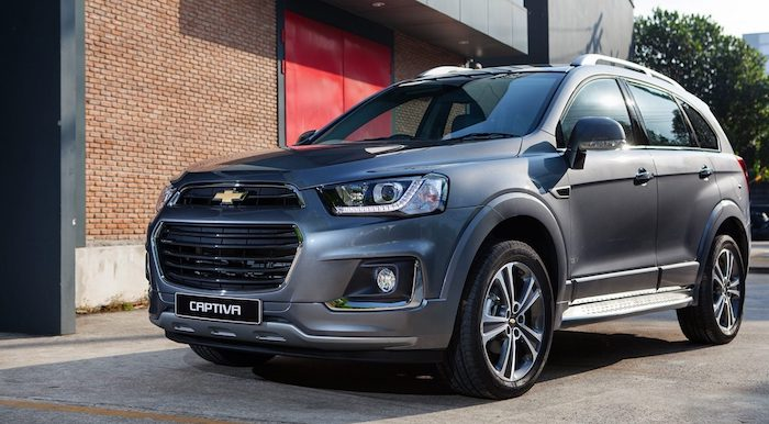 Новая Chevrolet Captiva выйдет этим летом 1