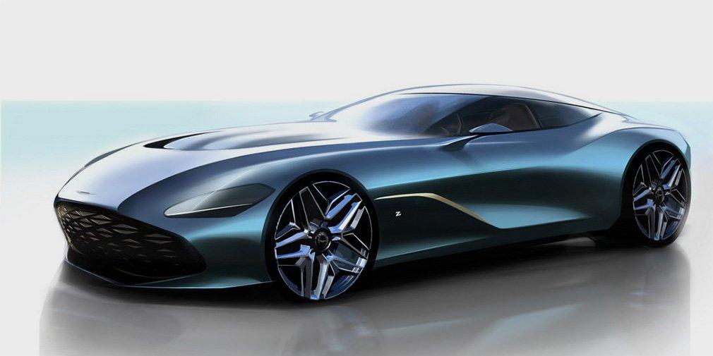Zagato отметит свое 100-летие суперкаром Aston Martin за 7 миллионов евро 1