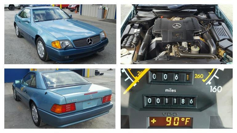 Угнанный 28 лет назад Mercedes-Benz SL 500 выставлен на торги 1