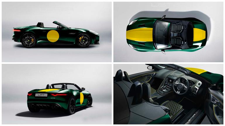 Lister построил 666-сильный родстер Jaguar F-Type 1