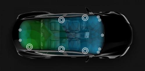 Tesla Model S получила фальшивый двигатель V8 1