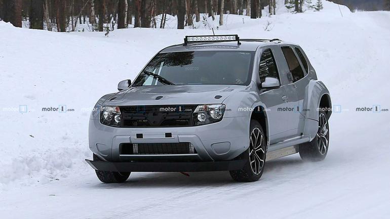 Электрический кроссовер Dacia Duster EV замечен во время тестов 1