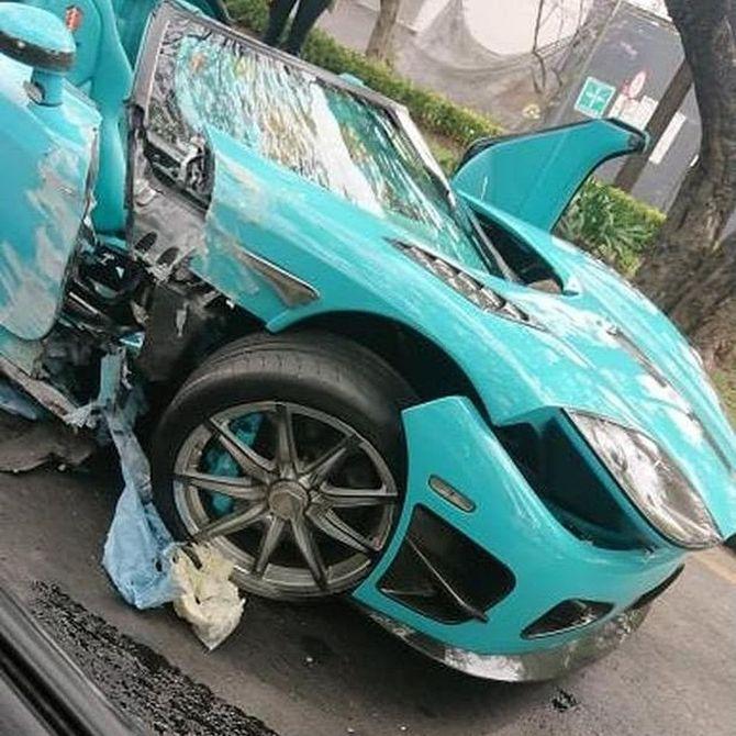 В ДТП разбили единственный в своём роде автомобиль за $2,5 млн 1
