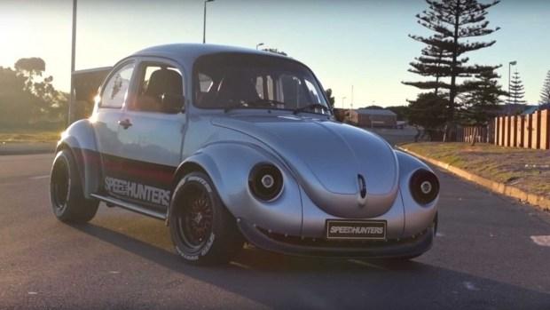 Необычный тюнинг малыша Volkswagen Beetle 5