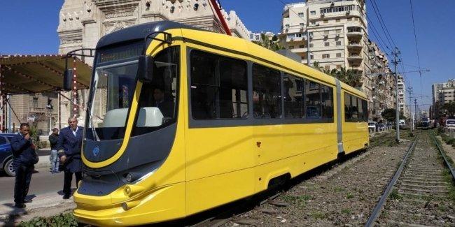 В Египте запустили украинский трамвай с кондиционером и Wi-Fi 1