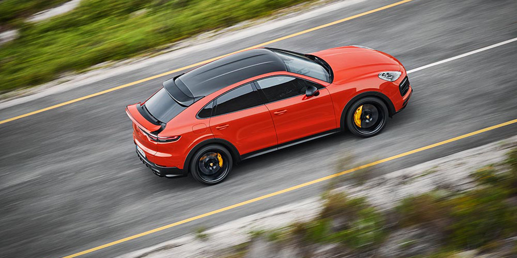 Porsche представил новый внедорожник Cayenne Coupe 4