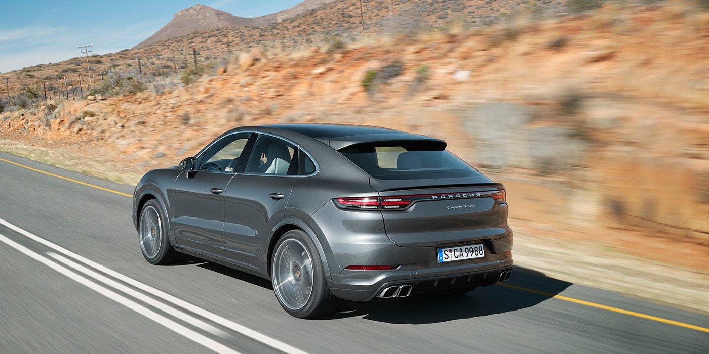 Porsche представил новый внедорожник Cayenne Coupe 1