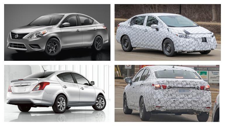Седан Nissan Versa сменит поколение в этом году 1