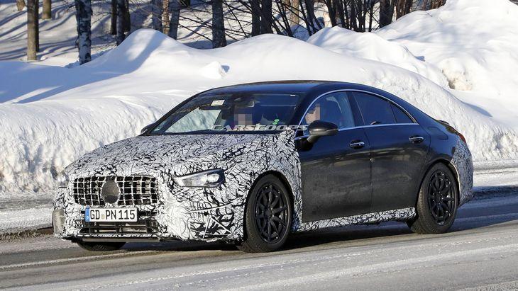 Mercedes-AMG готовит для нового CLA 45 мотор на 416 лошадей 1