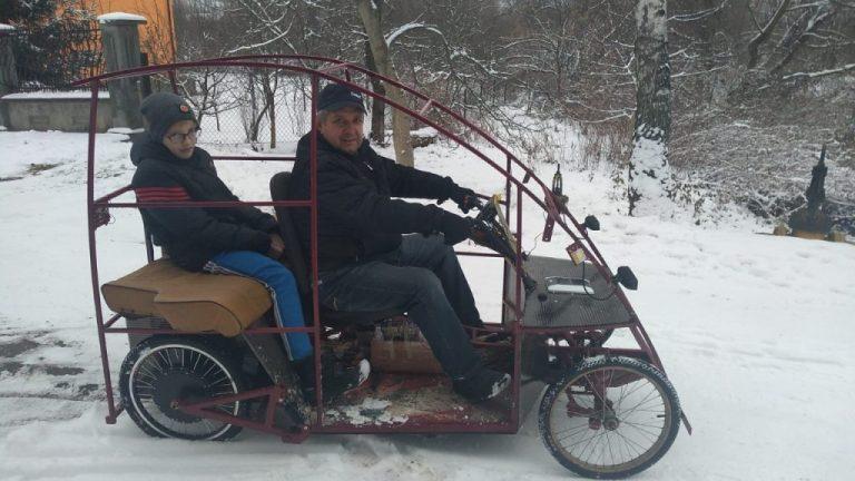Украинец сделал электрокар за 1,5 тыс. долларов 1