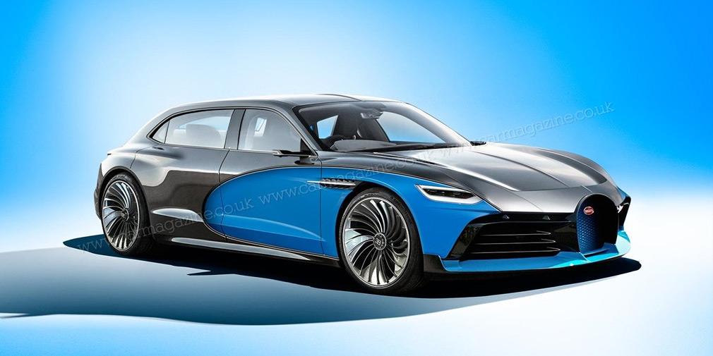 Bugatti создаст электрический седан 1