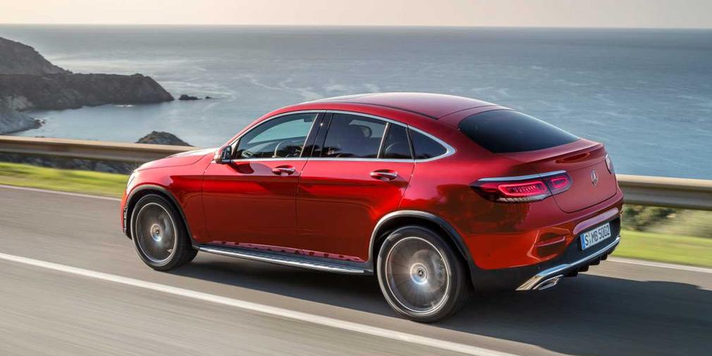 Mercedes представил обновленные GLC и GLC Coupe 2