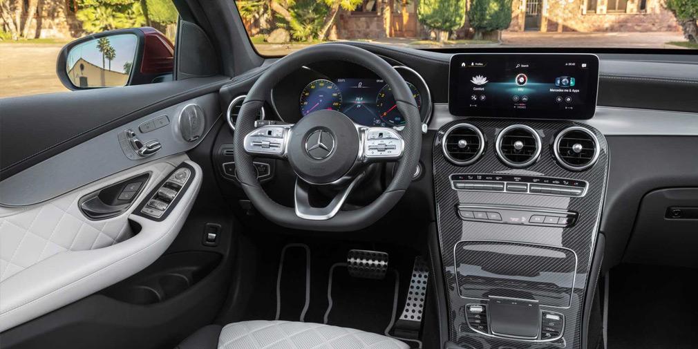 Mercedes представил обновленные GLC и GLC Coupe 3