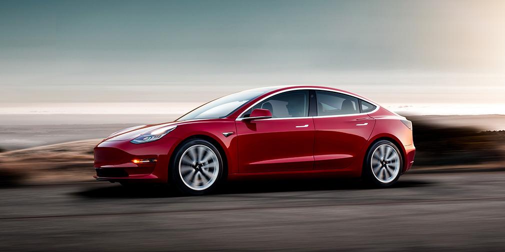 Tesla увеличила запас хода Model 3 1