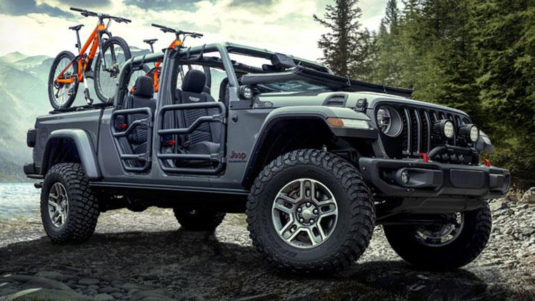 Началось производство пикапа Jeep Gladiator 1