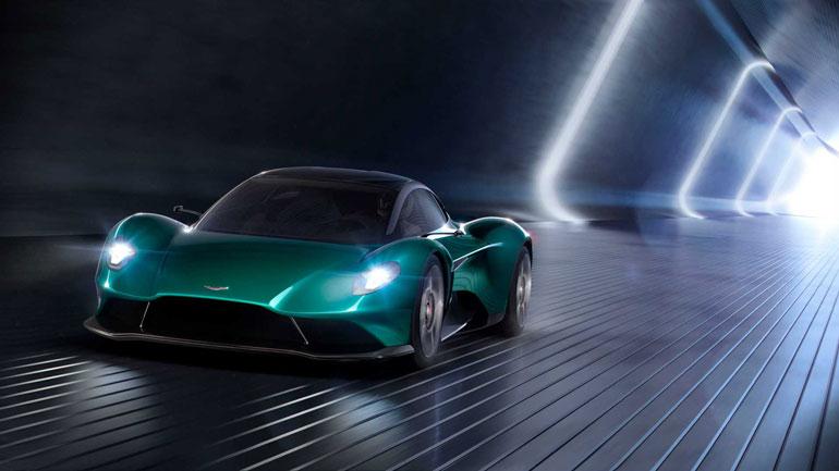 Aston Martin анонсировал выход новых Vanquish AMR Pro и Volante 3
