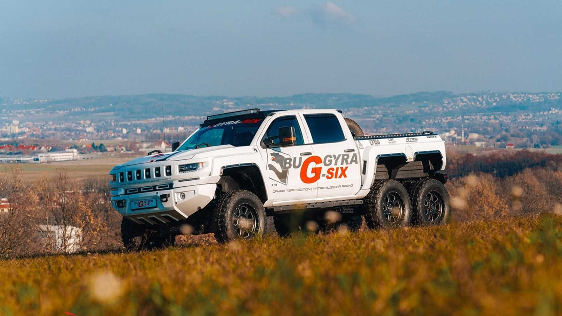 Чехи превратили Chevrolet Silverado в трехосного монстра 1