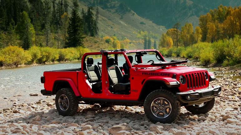 Началось производство пикапа Jeep Gladiator 2