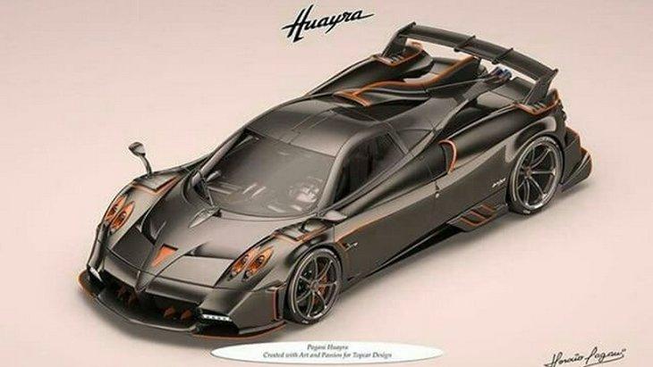 Pagani готовит самую сумасшедшую версию гиперкара Huayra 1