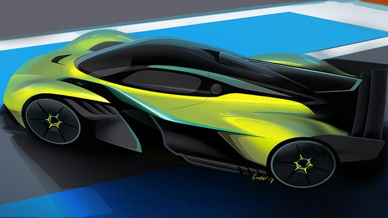 Aston Martin анонсировал выход новых Vanquish AMR Pro и Volante 1